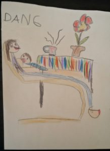 Daniel J. 6 let - Sestřička u maminky